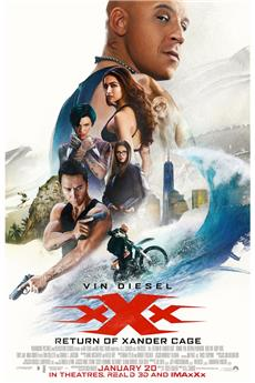 xXx: Return of Xander Cage (2017) 720p