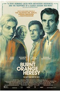 The Burnt Orange Heresy (2020) 720p